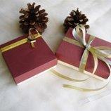 Коробочки Подарочные Цветные