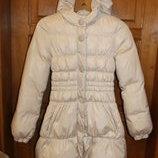 Пальто пуховое Benetton