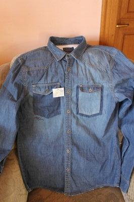 Джинсовая рубашка Staff Jeans