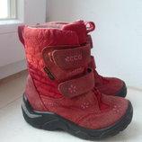 Зимние ботиночки Ecco Gore-Tex 22 р.