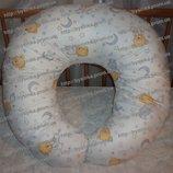 Подушка для беременных и кормления ребенка наволочка