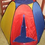Продам новую детскую палатку Пирамида, 6 граней. Большая и классная