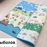 Теплый развивающий коврик разные размеры в наличии,акция Baby Mat