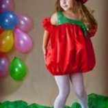 Прокат карнавальный костюм Киев-Борисполь Костюм Помидорка Вишенка, Калина