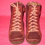 Демисезонные кожаные ботинки TSM - 27 размер