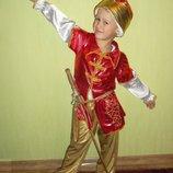 Прокат костюма Ивана Царевича, Султана на 4-6 лет.