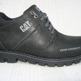 Зимние ботинки натур.нубук натур.мех р. 40-45 мод.Б-САТ мус.