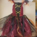 Карнавальное платья 9-10лет