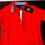 Поло майка футболка Tommy Hilfiger- made in U.S.A.Оригинал.