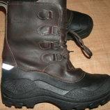 39/40-26.5 термо сапоги новые шерсть кожа VIN Gard Made in Italy