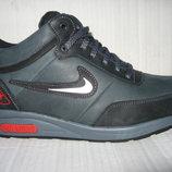 Зимние кроссовки типа Nike натур. нубук набив.мех р.40-45 мод.Б18