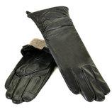 Женские перчатки, удлиненные, длинные, сенсор, кожа,