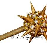 Оригинальный сладкий подарок - Булава из конфет