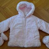 Куртка тёплая Adams 6-9мес. 51