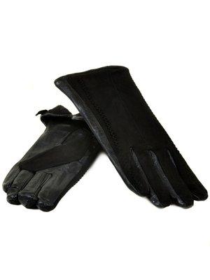 Женские перчатки кожа, замша, кашемир