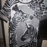 Платье с принтом зебра, 170гр