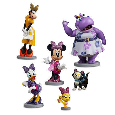 игровой набор фигурок Минни Маус и друзья