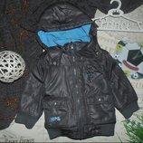 Куртка деми OKAY на 12-18 мес,рост 80-86 см.Большой выбор одежды
