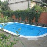 Строительство бассейнов, саун, бань.