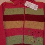 Шерстяная кофта маленкой моднице ТМ Дайс в наличии 86-92,98-104,110-116