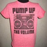 На 5,5 лет неоновая футболка Next мальчику