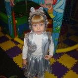 Продам новогодний костюм зайки или мышки для девочки размер 2,5-5 лет