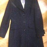 Пальто NEXT шерсть с люриксом