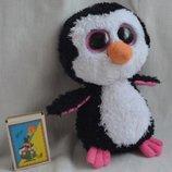 TY глазастики - мягкая игрушка с большими глазами Пингвин