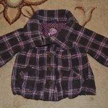 Пальто шерстяное Next р3-4 года 104 см.