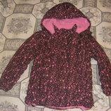 Теплая осенне-зимняя куртка Тополино, рост 122-134