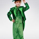 Прокат карнавальный костюм Киев-Борисполь костюм кузнечика яркого изумрудного цвета
