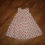 Платье, сарафан Mothercare на 1,5-2 года, хлопок