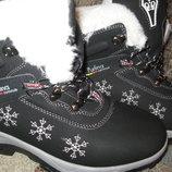 Женские зимние ботинки фирмы Purlina в наличии