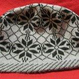 головной убор вязанная шапка