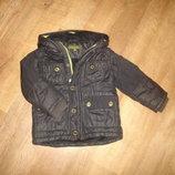 Теплая куртка Baker на силиконе на 2-3 года