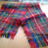 теплый мужской шарф