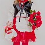 Прокат карнавальный костюм Киев-Борисполь Костюм Красная шапочка