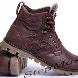 Кожаные мужские ботинки Levis Leather Jax Shoes