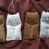 Авторские чердачные коты ,кот ,котик ручной работы