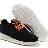 Кроссовки Nike Roshe Run II Black - черные