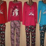 Пижамы флис интерлок котон махра Турцыя