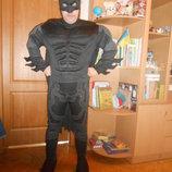 Карнавальный новогодний костюм Бетмен Маска Крик взрослый