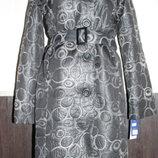 Демисезонное осенне-весеннее теплое пальто Eltex