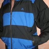 2 в 1 черная и полоска унисекс р М-XL куртка зима на Adidas