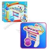 Детское пианино 7235 Музыкант с микрофоном.