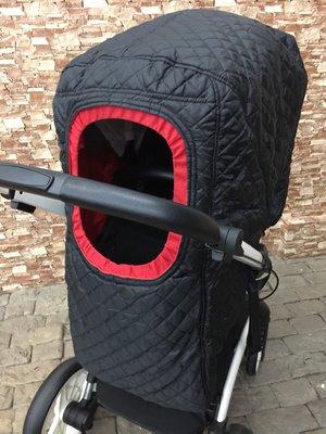 Тёплый зимний чехол на коляску