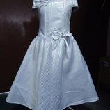 Детское нарядное новое платье-д8