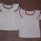 Новые нарядные белые блузки на рост 98-128см
