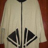 Шикарный пиджак-куртка MaraLea 46-54р свободного кроя