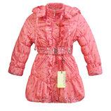 Распродажа зимнее пальто для девочки 36 на рост 134 см